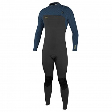 O'Neill HyperFreak Comp 4/3 Zipless Wetsuit - Black/Abyss