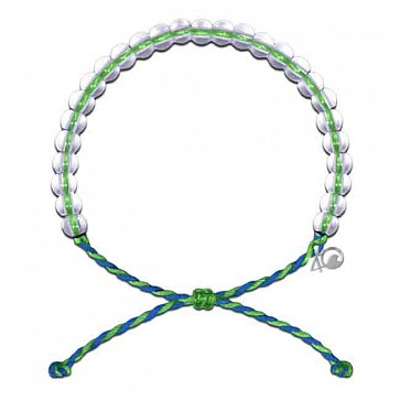 4Ocean Earth Day Bracelet - Green/Blue