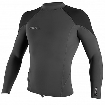 O'Neill Reactor II 1.5mm Long Sleeve Jacket - Graphite/Ocean