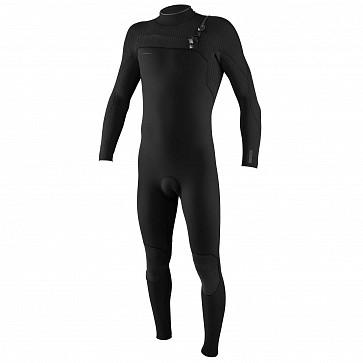 O'Neill Hyperfreak 4/3+ Chest Zip Wetsuit - Black