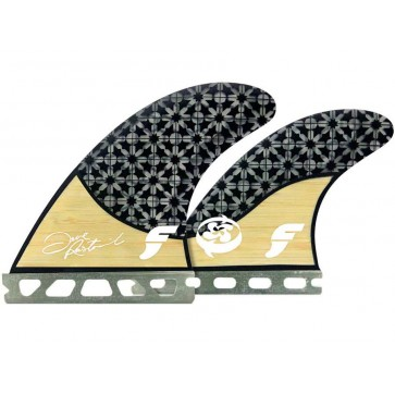 Future Fins - Rasta Quad - Bamboo Graphic