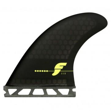Futures Fins - F6 Honeycomb - Smoke/Black