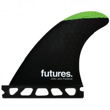 Futures Fins - John John Grom SS - Green/Silver