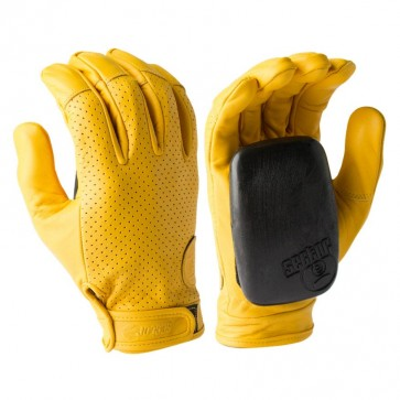 Sector 9 Driver Slide Gloves - Yellow