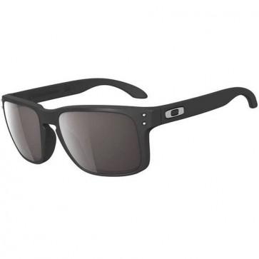Oakley Holbrook Sunglasses - Matte Black/Warm Grey