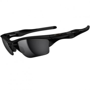 Oakley Half Jacket 2.0 XL Polarized Sunglasses - Polished Black/Black Iridium