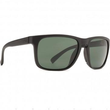 Von Zipper Lomax Sunglasses - Black Satin/Vintage Grey