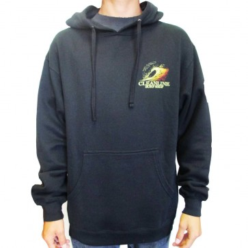 Cleanline Graphite Sunset Hoodie - Black