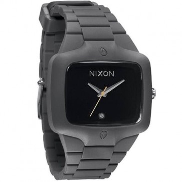 Nixon Rubber Player Watch - Grey/Black