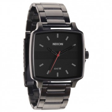 Nixon Cruiser Watch - All Gunmetal/Black