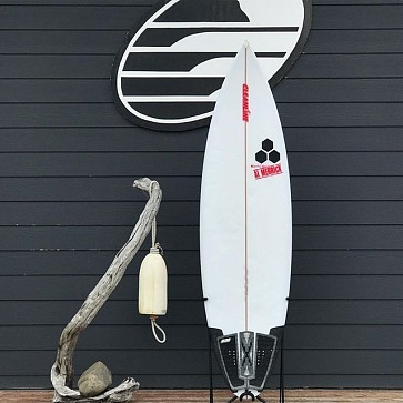 Channel Islands Rook 15 6'2 x 19 1/4 x 2 1/2 Used Surfboard - Deck