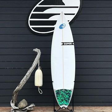 Super Brand Burnside 6'3 x 18 7/8 x 2 1/2 Used Surfboard - Deck