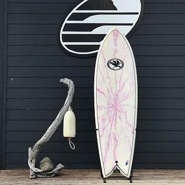 Island Classics Quad Fish 6'2 x 21 1/4 x 2 3/4 Used Surfboard - Deck