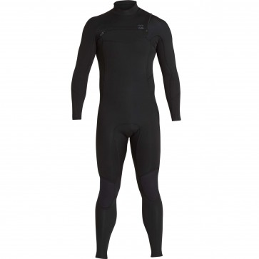 Billabong Furnace Absolute Comp 4/3 Chest Zip Wetsuit - Black