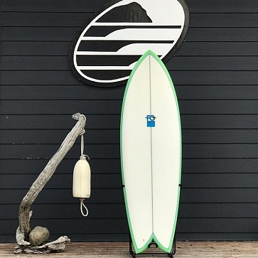 FCD Fish 5'10 x 21 1/8 x 2 9/16 Used Surfboard - Deck