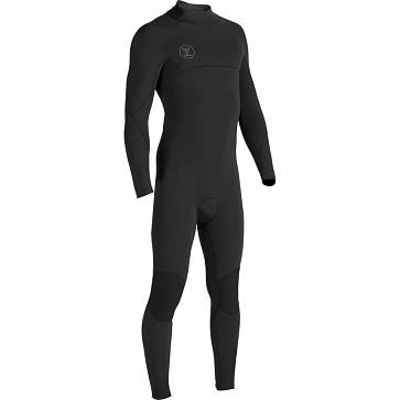Vissla Seven Seas 3/2 Back Zip Wetsuit - Black/Jade