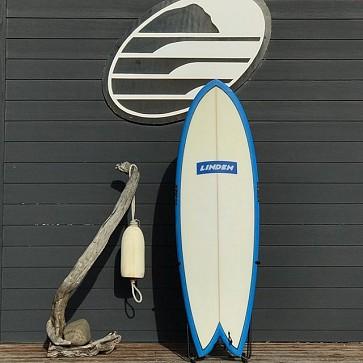 Linden Quad Fish 5'6 x 21 x 2 3/4 Used Surfboard - Deck