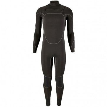 Patagonia R2 Yulex 3.5/3 Chest Zip Wetsuit - Black