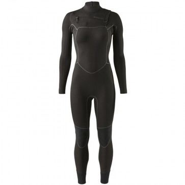Patagonia Women's R2 Yulex 3.5/3 Chest Zip Wetsuit - Black