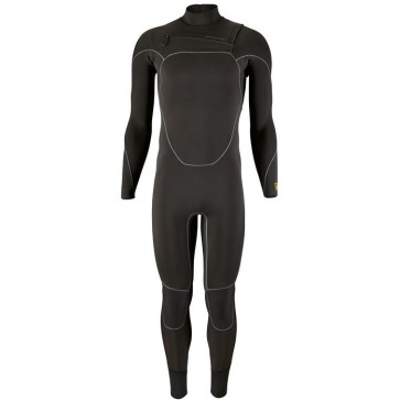 Patagonia R3 Yulex 4.5/3.5 Chest Zip Wetsuit - Black