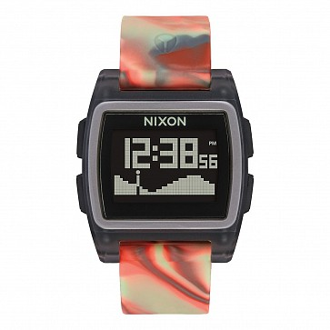 Nixon Base Tide Watch - Orange Jellyfish