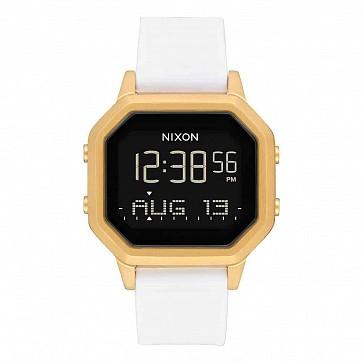 Nixon Women's Siren SS Watch - Gold/White