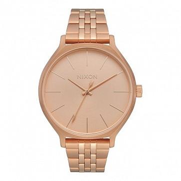 Nixon Women's Clique Watch - All Rose Gold