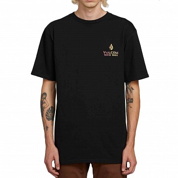 Volcom Peace Is Progress T-Shirt - Black