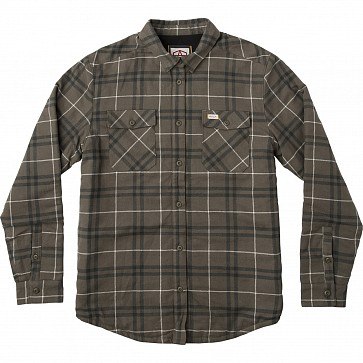 RVCA AR Plaid Flannel - Olive