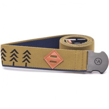 Arcade The Treeline Belt - Green/Navy