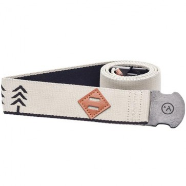 Arcade The Blackwood Belt - Oatmeal/Navy