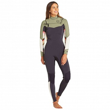 Billabong Women's Salty Dayz 3/2 Chest Zip Wetsuit - Serape