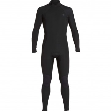 Billabong Furnace Absolute Comp 5/4 Back Zip Wetsuit - Black