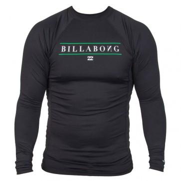 Billabong Wetsuits Youth All Day Long Sleeve Rash Guard - Black