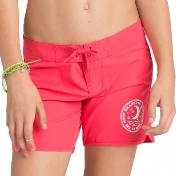 Billabong Girls Sol Searcher Boardshorts - Red Hot