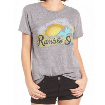 Billabong Women's Ramble On T-Shirt - Dark Athletic Grey