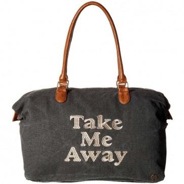 Billabong Women's Bali Bliss Weekender Bag - Off Black