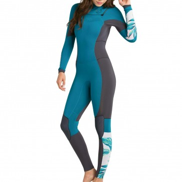 Billabong Women's Salty Dayz 3/2 Chest Zip Wetsuit - Madive