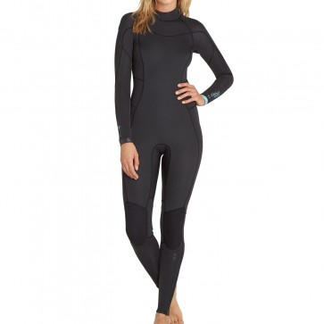 Billabong Women's Synergy 3/2 Back Zip Wetsuit - Black Sands