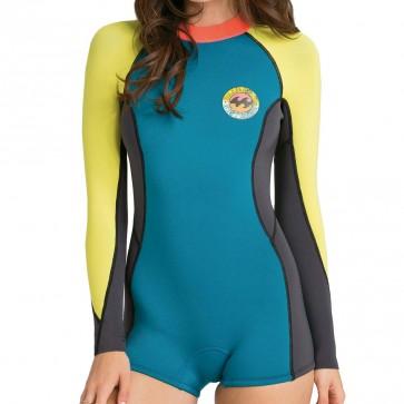 Billabong Women's Spring Fever Long Sleeve Spring Wetsuit - Maldive