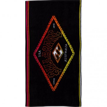 Billabong Re-Issue Towel - Black