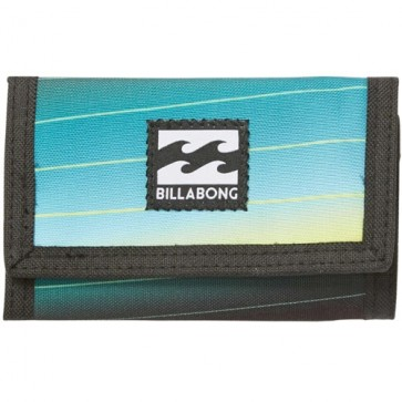 Billabong Atom Wallet - Black/Lime