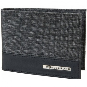 Billabong Dimension Wallet - Black Heather