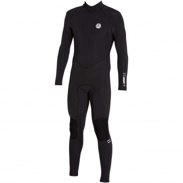 Billabong Revolution 3/2 Back Zip Wetsuit - Black