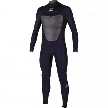 Billabong Absolute Comp 3/2 Chest Zip Wetsuit - Black