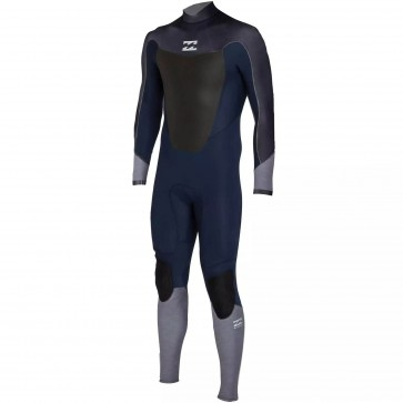 Billabong Absolute Comp 4/3 Back Zip Wetsuit - Ink