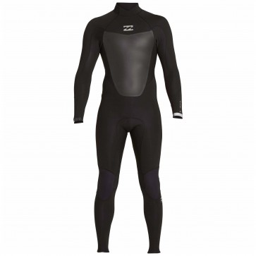Billabong Absolute Comp 4/3 Back Zip Wetsuit - Black