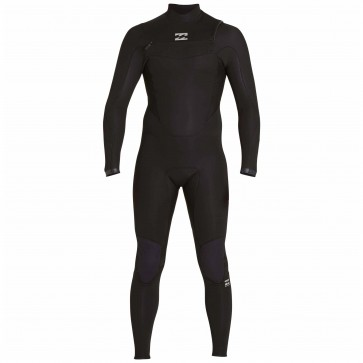 Billabong Absolute Comp 4/3 Chest Zip Wetsuit - Black