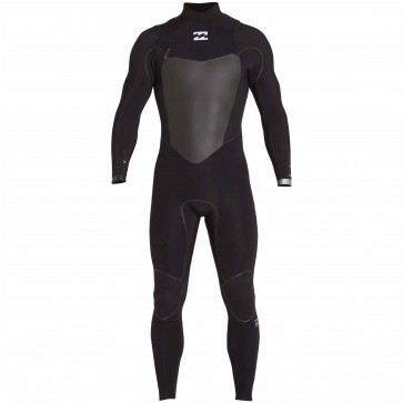 Billabong Furnace Carbon X 3/2 Chest Zip Wetsuit - Black