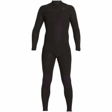 Billabong Revolution Tri Bong 4/3 Chest Zip Wetsuit - Black